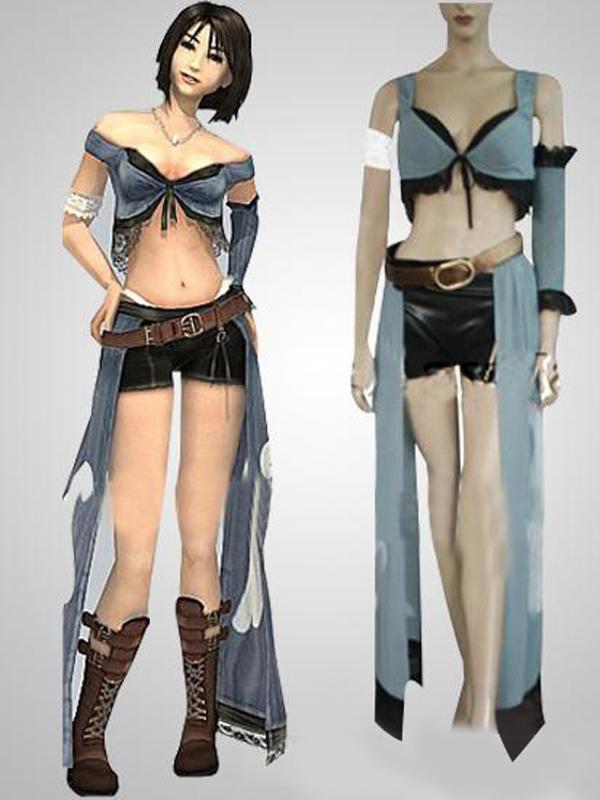 Final Fantasy VIII Rinoa Cosplay Costume L