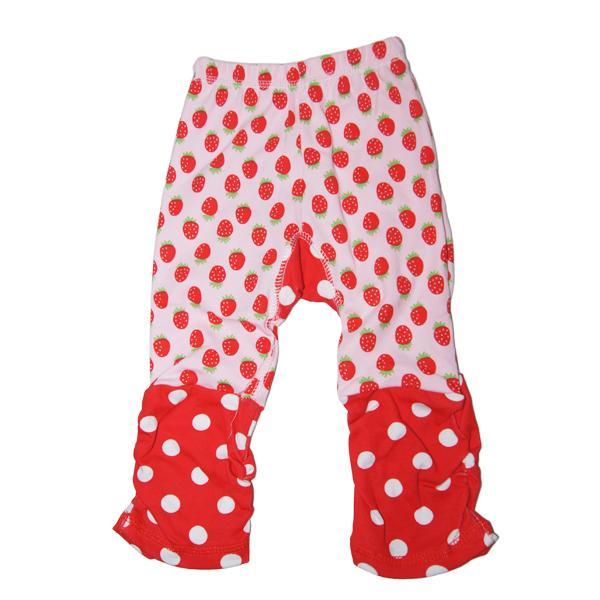 Strawberry Pattern Toddler Baby Legging Tights Leg Warmer Socks Pants PP Pants for Baby Height 80cm