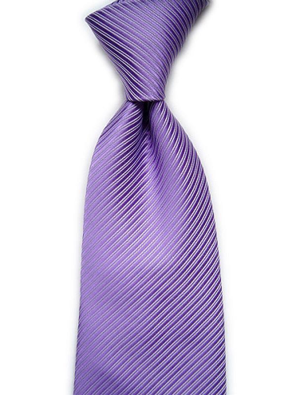 Purple Twill Stripe Jacquard Necktie 14#