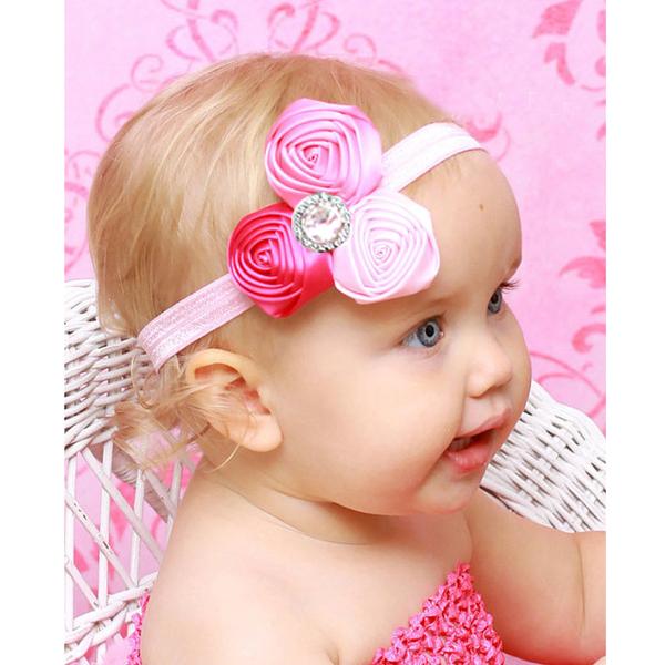 Baby Nice Flowers Rhinestones Headwear Headband YTR07