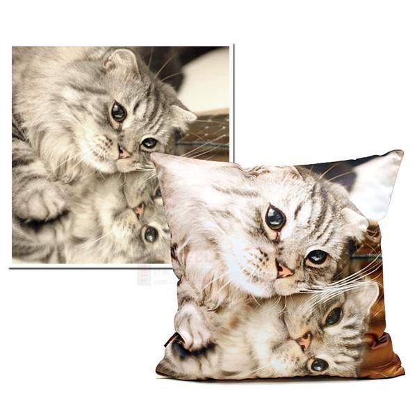 Personalized Custom Soft Photo Throw Pillow Pillowcase 40 x 40CM Single Printing