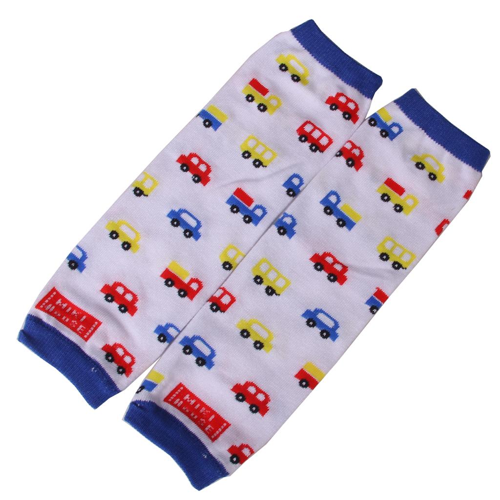 Kids Toddler Soft Leggings Leg Warmers Socks Age 0-6Y - Mutil Car Pattern