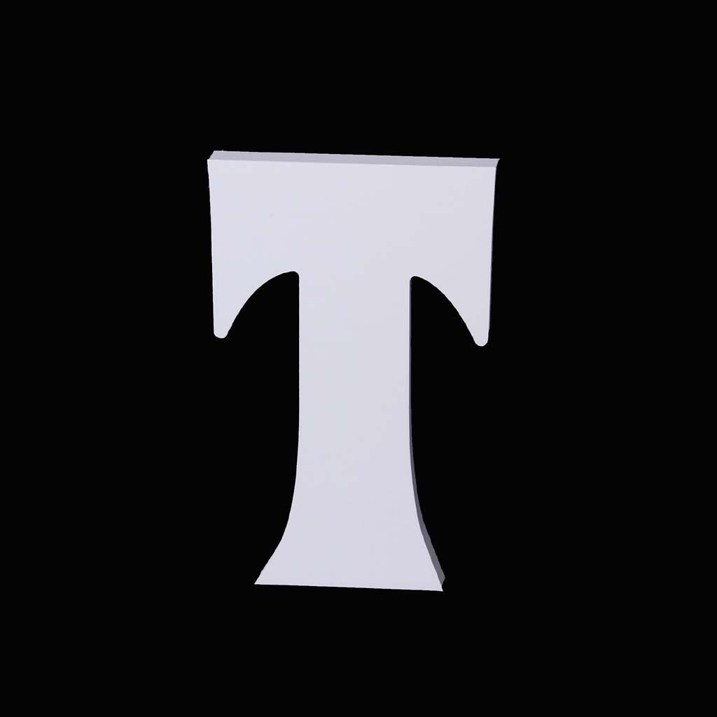 Alphabet Letter T for Bridal Wedding Party Birthday Xmas Home Garden Decoration