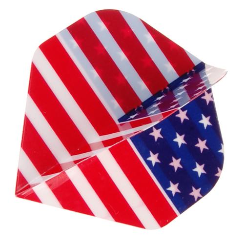 USA Flag Dart Flight