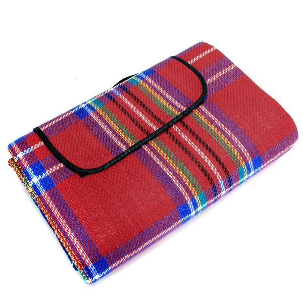 Tartan Pattern Waterproof Blanket Picnic Mat