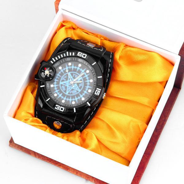 Cool Fashion Cosplay Wrist Watch Bling Chain Rivet