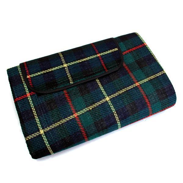 Tartan Pattern Picnic Mat Waterproof Blanket