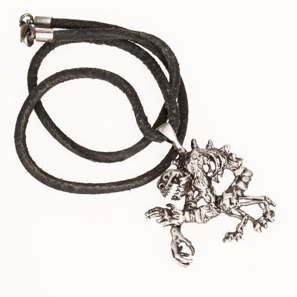 Pxhide Chain Creepy Goul Pendant Necklace