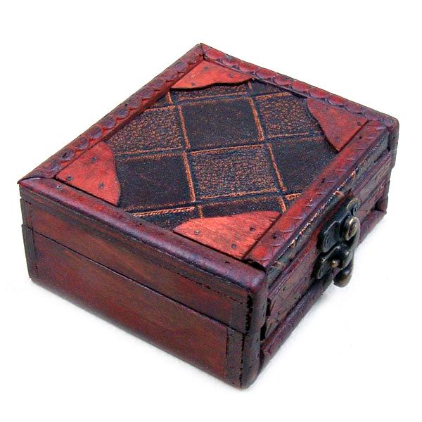 Antique Tattoo Rotary or Coil Wrap Gun Machine Grip Box Case Supply