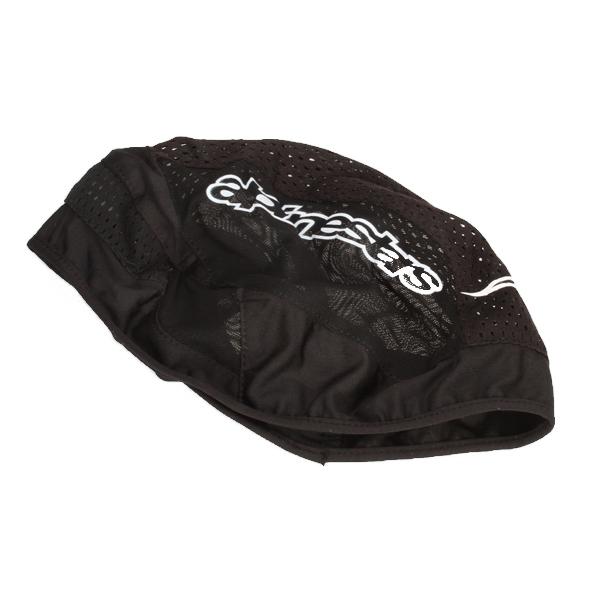 Mesh Cap Beanie Hat - Black