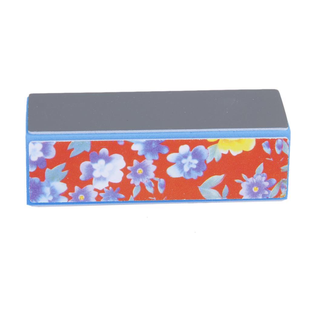 4 Way Nail Art Buffer Shiner Buffing Block Sanding Files Nail Buffer Block for Manicure