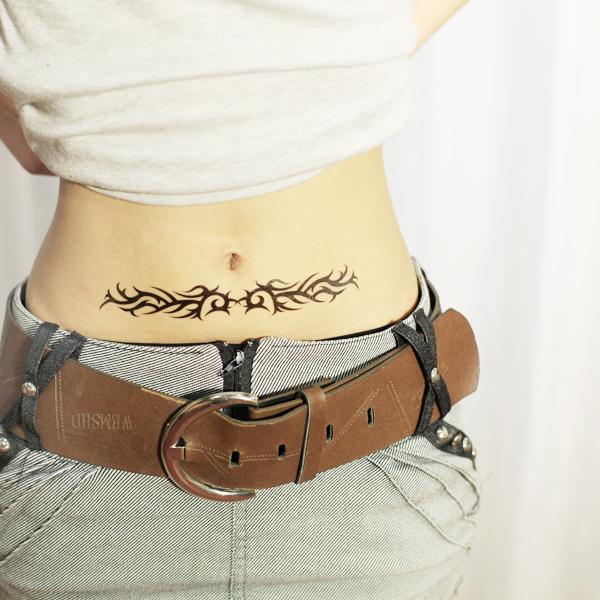 Cool Stylish Design Ladies Body Art Temporary Tattoo Sticker