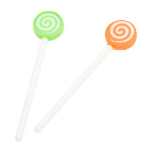 Plastic Lollipop Tongue Cleaner Tongue Scraper