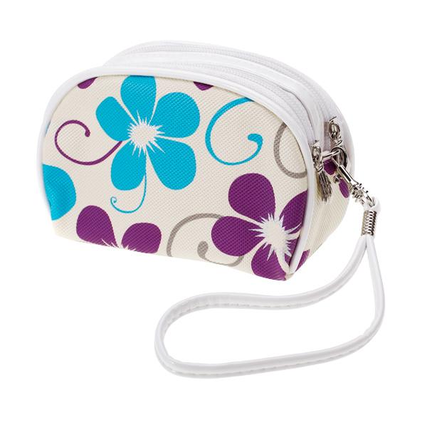 Elegant Flower Clutch Purse Coin Purse Mamke-up Bag Hand Case Bag