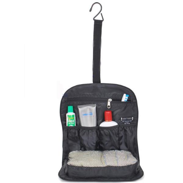 Travel Folding Toiletry Kit Cosmetic Bag Storage Bag Sky Blue