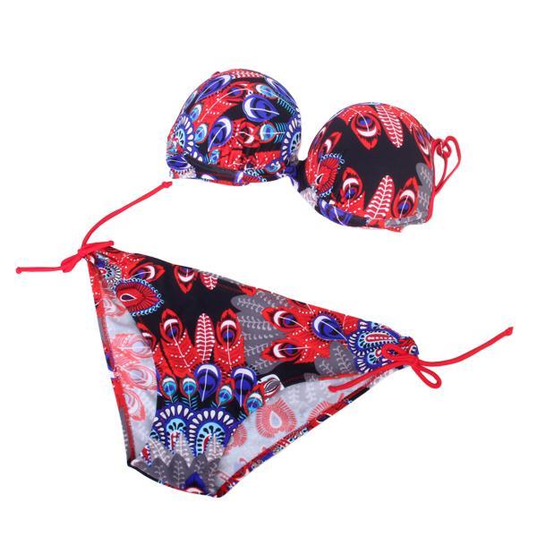 Sexy Bright Color Womens Swimwear Bikini EU42 US12