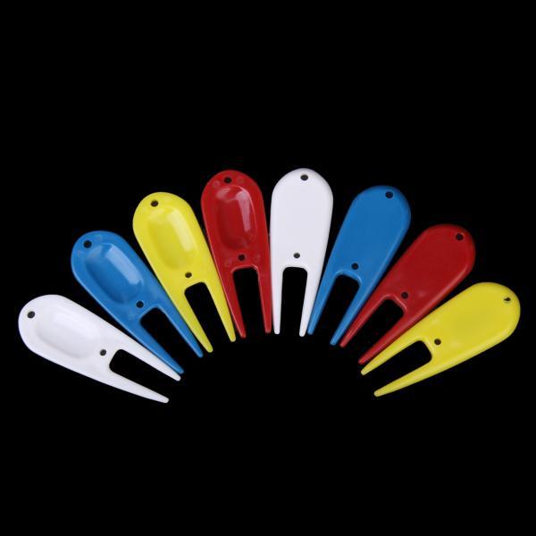 8Pcs Plastic Golf Accessory Divot Tool