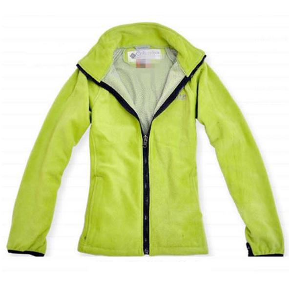 Women Winter Outwear Waterproof Breathable Warm Hoodie Jacket Detachable Two-piece Coat XL Grass Green