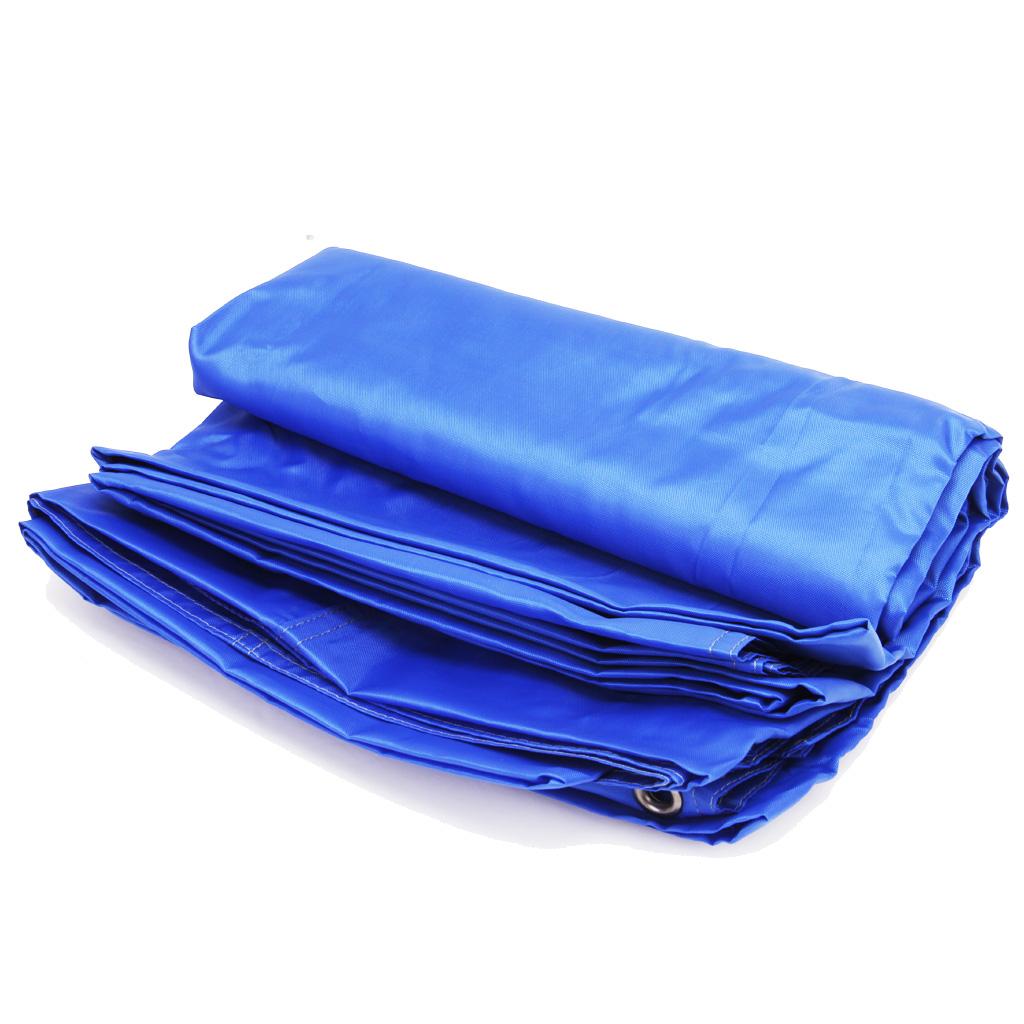 Camping Picnic Waterproof Tent Mat 220 x 180 cm Blue