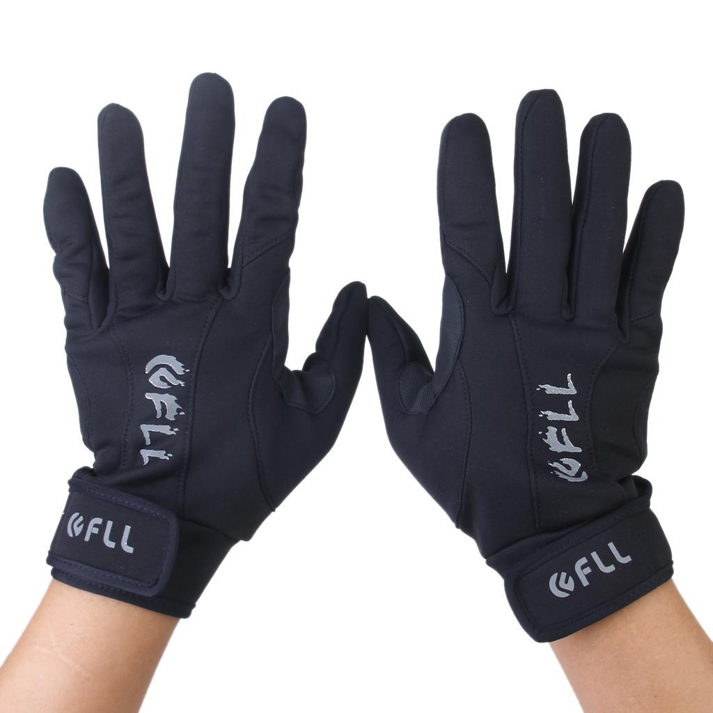 Outdoor Sport Bike Cycling Full Finger Anti-slip Warm Ski Windproof Gloves L