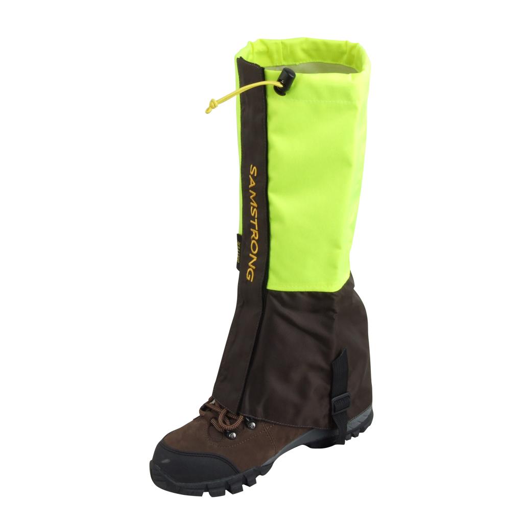 1 Pair Double Layer Waterproof Outdoor Hiking Walking Climbing Snow Legging Gaiters