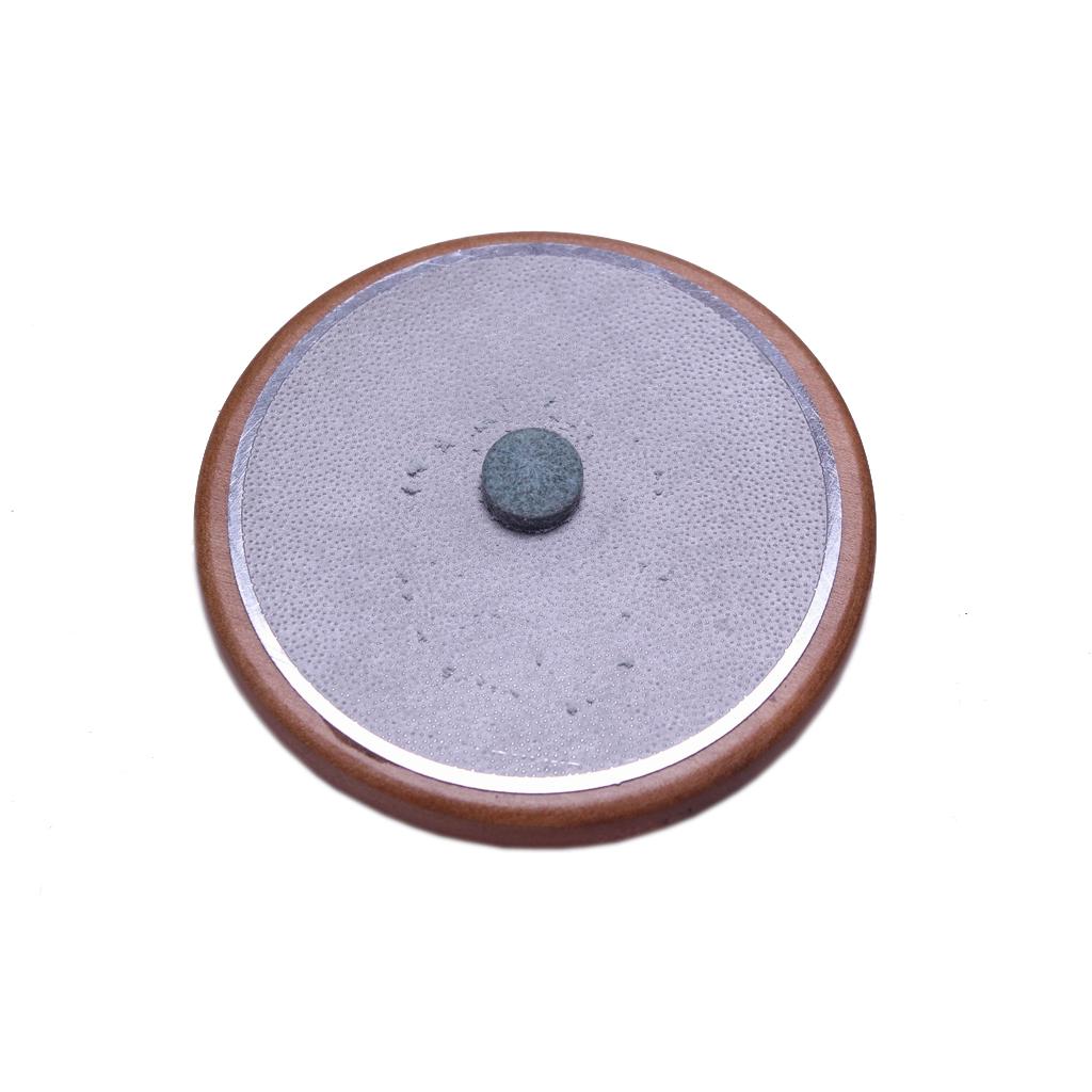 Round Wooden Metal Billiard Pool Cue Tip Shaper Burnisher File Repair Tool