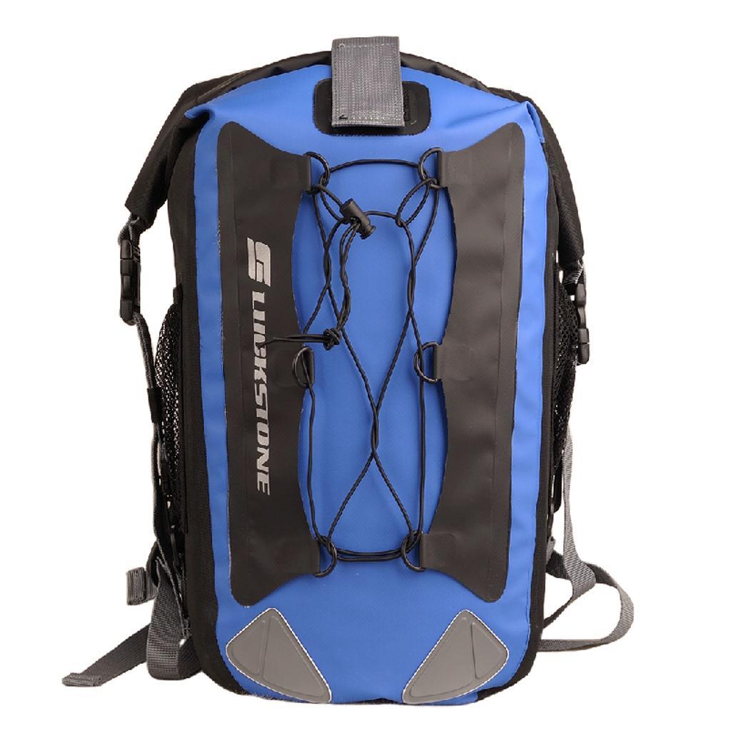 Outdoor 30L Waterproof Dry Storage Bag Backpack Rafting Canoeing Kayaking Blue