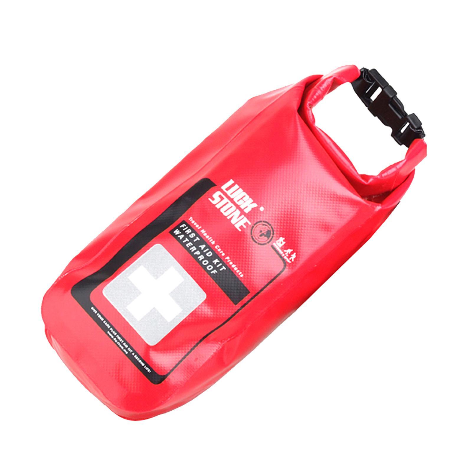 Empty Waterproof Emergency First Aid Kit Dry Bag Rafting Camping Kayaking