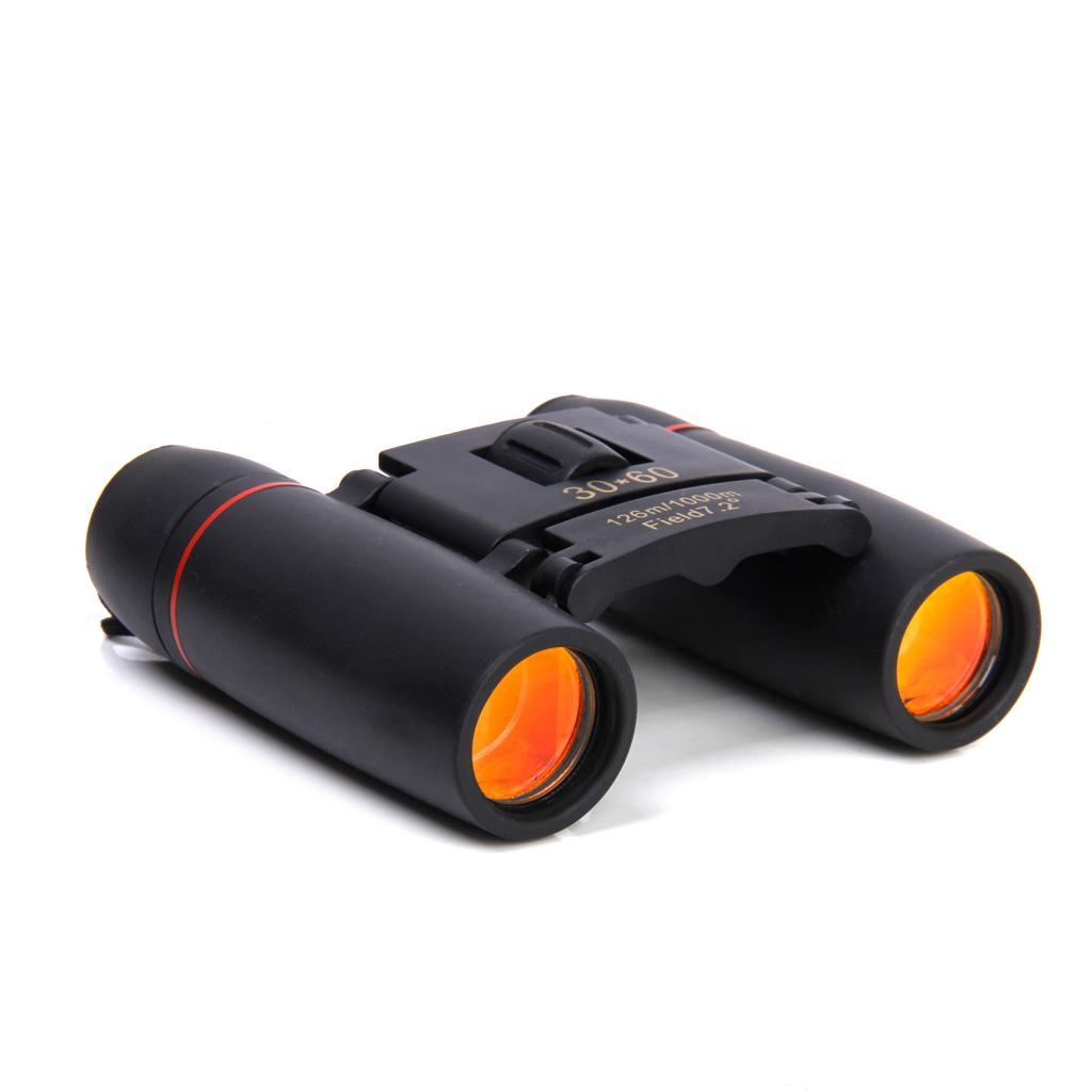 Outdoor Mini Folding 30x60 Day Night Vision Zoom Binoculars Telescope 126m-1000m Camping