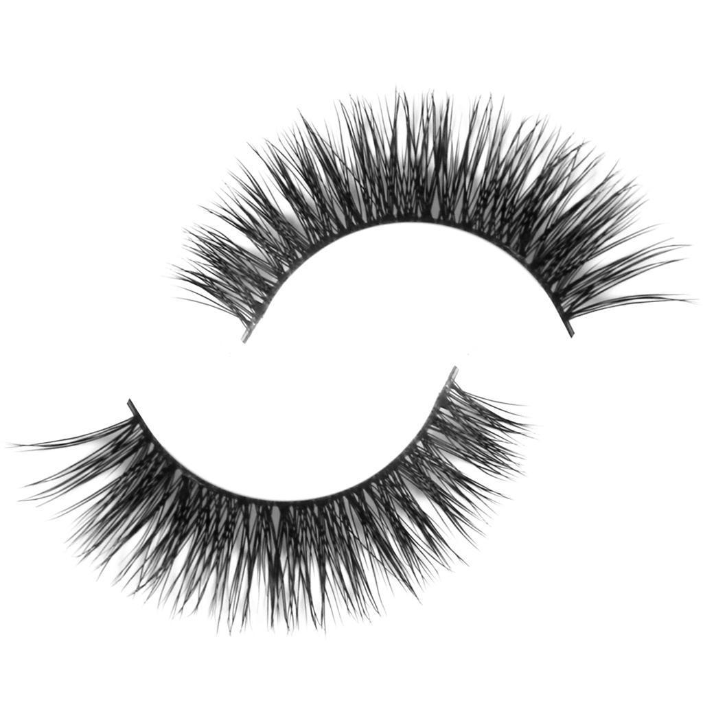 Handmade Natural Hair Thick Long Eye Lashes False Fake Eyelashes D-3