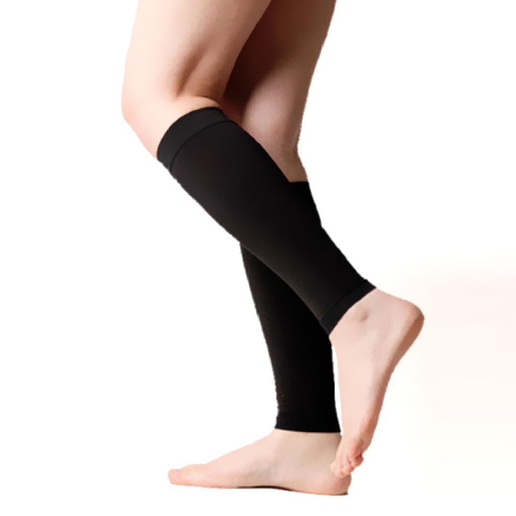 PhenovoCalf Leg Compression Slim Socks Varicose Prevent Unisex Size XL Black