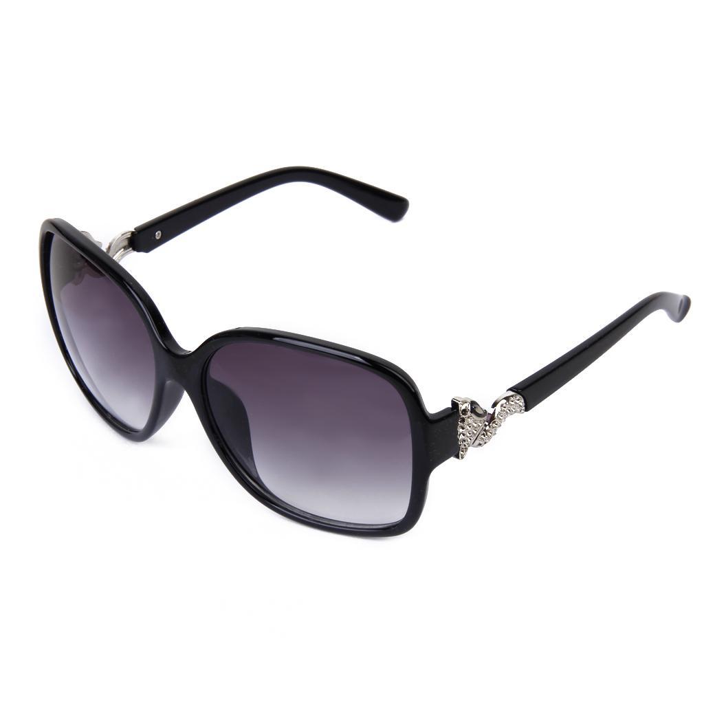 Fashion Women UV400 Fox Design Sunglasses Eyeglasses Glasses Blac...