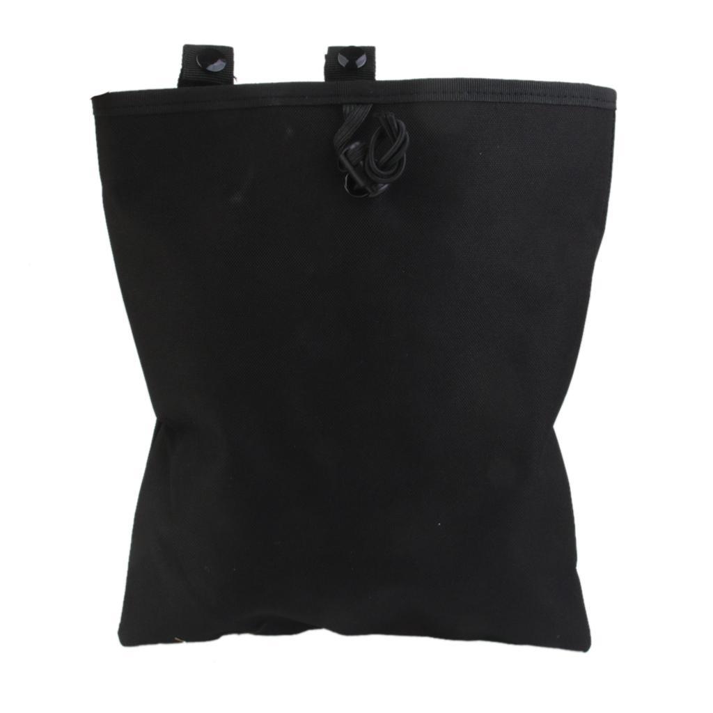 Military Paintball Molle Tactical Magazine DUMP Drop Utility Pouch Bag A4