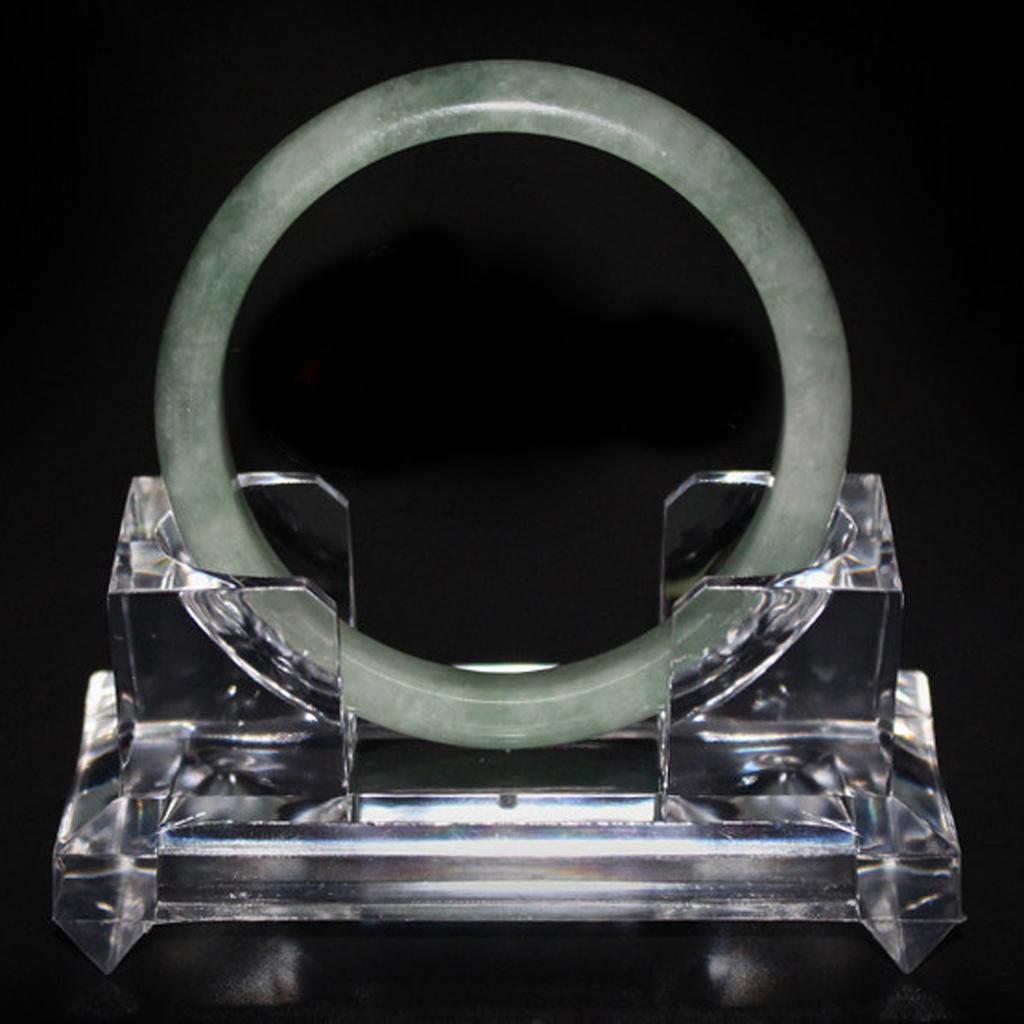 Clear Acrylic Bracelet Bangle Jewelry Organizer Display Stand Holder DIY L
