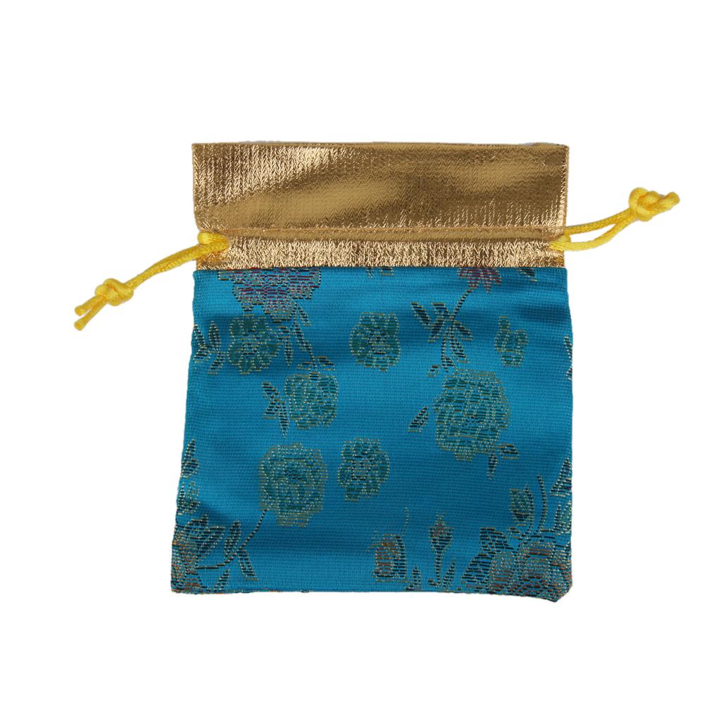 Pcs blue jewelry drawstring pouch velvet gift bag