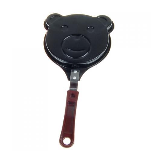 Black Bear Shaped Non-stick Egg Frying Pan