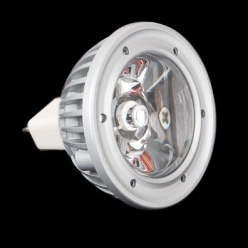 MR16 GU5.3 12V Cool White Light Bulb 1x3W