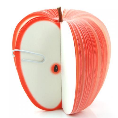 Red Apple Original Fruit Note Paper / Memo Pad
