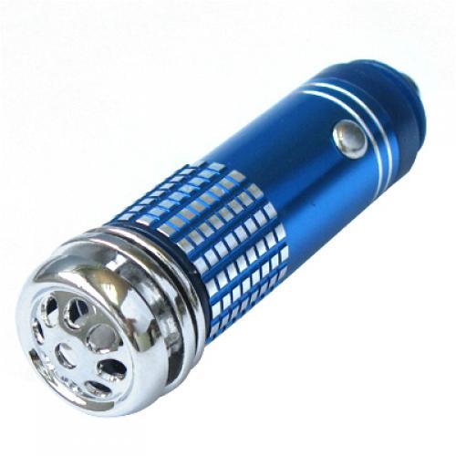 Blue Mini Fresh Air Purifier/ Oxygen Bar for Cars