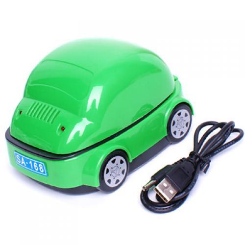 USB Smokeless Ashtray Air Purifier - Green