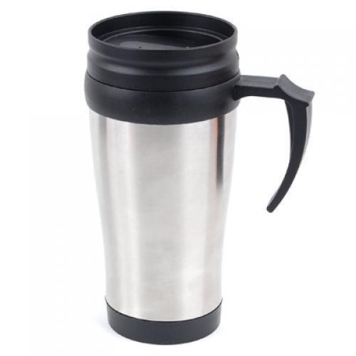 15oz Travel Car Mug Camping Tea Flask Cup