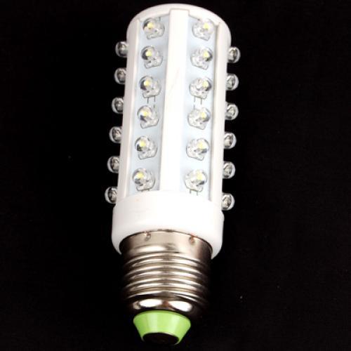 110V E27 36-LED White Screw Base Corn Light Bulb - US Market