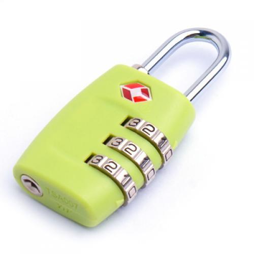 Green Travel Luggage TSA Lock Combination