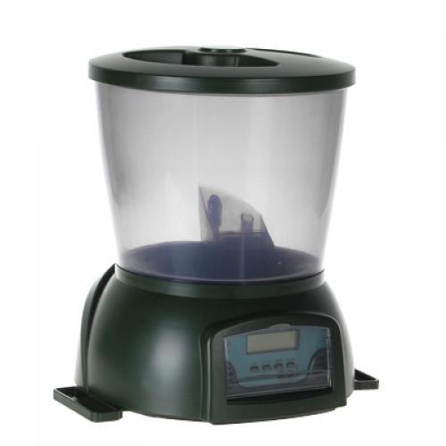 Professional automatic pond fish aquarium feeder timer for Fish tank feeder