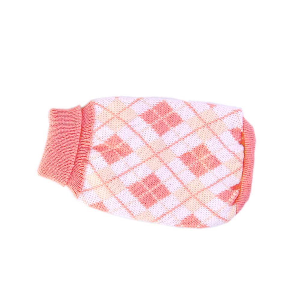 Knitting Pattern For Xs Dog Sweater : Knit Turtleneck Dog Sweater Clothing Argyle Patterns Pink ...