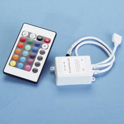 24 Keys IR Remote Controller for RGB LED Strip 12V
