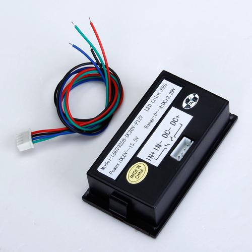 3 1/2 Digital Red LED 20V DC Volt Voltage Panel Meter