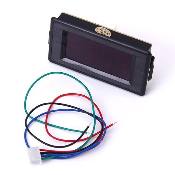 3 1/2 Digital Red LED 200Ω Resistance Panel Meter