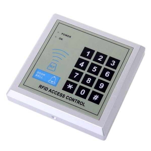RFID Door Lock Access Control System with 10 Keyfobs