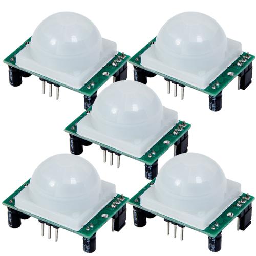 5x Pyroelectric Infrared PIR Motion Sensor Detector Module